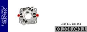 flansza wału kompresora LK4944