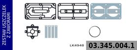 zestaw naprawczy głowicy LK4948