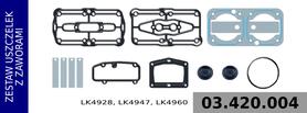 zestaw naprawczy głowicy LK4928