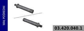 wał pomocniczy kompresora LK4960