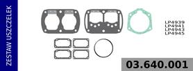 Zestaw uszczelek kompresora LP4939