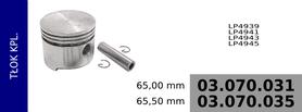 tłok kompresora 65,00 mm